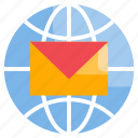 email, global, mail, message
