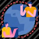 communication, connection, global, network, world, worldwide