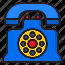 telephone, phone, vintage, call, communication