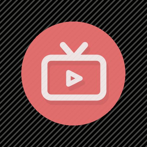 live, stream, television, tv, video, videostream icon