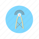 antenna, communication, connectivity, wifi, wireless icon