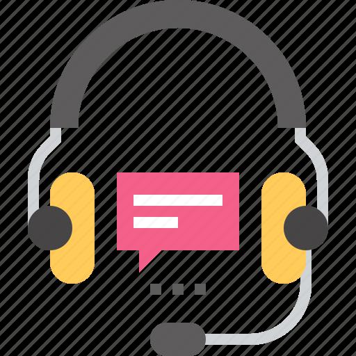 communication, entertainment, headphones, headset, media, sound, support icon