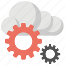 cloud application, cloud computing, cloud configure, cloud preferences, cloud settings icon