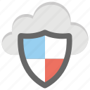 cloud network, cloud security, cloud storage, networking, private cloud icon