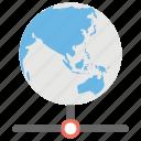 global database, global lan, global network, global server, internet sharing icon