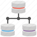 database hosting, database server, database topologies, network system, sql server icon