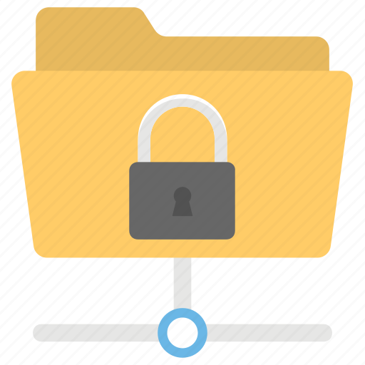 Confidential, data encryption, data security, protected folder, secure data folder icon - Download on Iconfinder