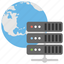 global database, global lan, global server, internet server, internet sharing icon