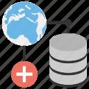 global database, global lan, global server, internet server, internet sharing