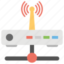 access router, network router, wifi modem, wifi router, wireless broadband icon