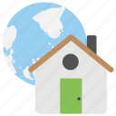 home area network, home internet, home networking, home page, internet services icon