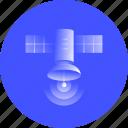 satellite, communication, telecommunication, radio, transmitter, space, signal