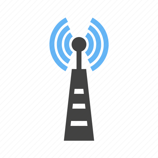 antenna, cellular, communication, signals, telecom, telecommunication, tower icon