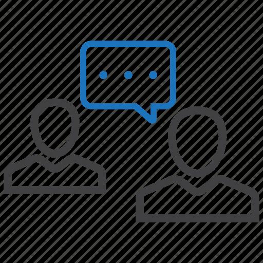 Conversation, gossip, reply icon - Download on Iconfinder