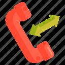 call, call forwarding, calling, forwarding icon