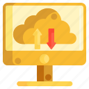 cloud, cloud architecture, cloud computing, cloud hosting, computing icon
