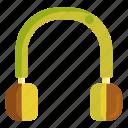 earphone, headphone, headphones, music, sound, volume icon