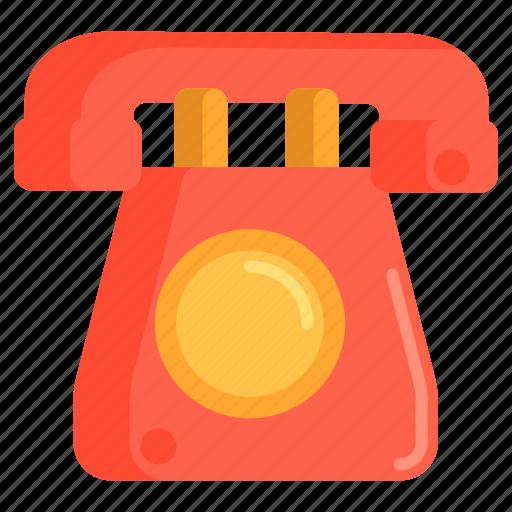 Hotline, landline, phone, telephone icon - Download on Iconfinder