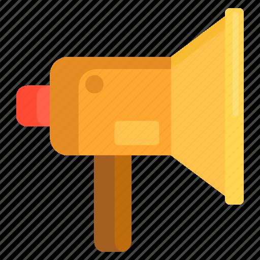 Ad, advertising, advertizing, bullhorn, loudspeaker, marketing, promotion icon - Download on Iconfinder
