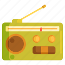 broadcast, radio, radio broadcasting icon