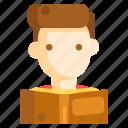bookworm, reader, readership icon