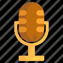 mic, microphone, recorder, voice, voice recording icon