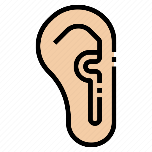 ears, hear, listen, organ, otology icon