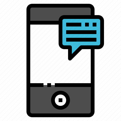 chat, communication, mobile, phone, smartphone icon