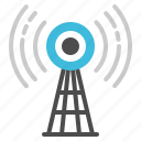 antenna, broadcast, radar, satellite, signal icon