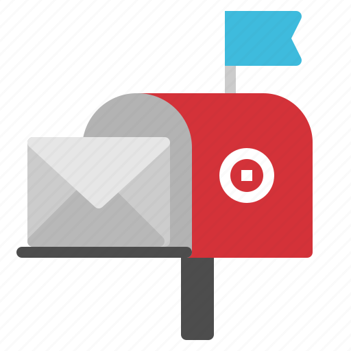 Email, flag, mail, mailbox, send icon - Download on Iconfinder