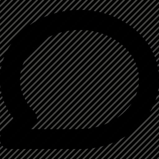 bubble, chat, message, speech icon