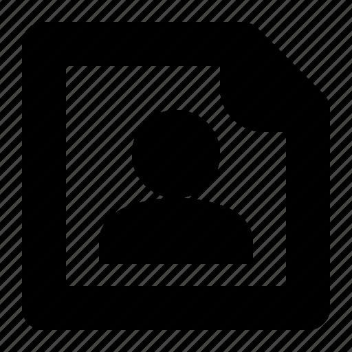 communication, contact, info, list icon