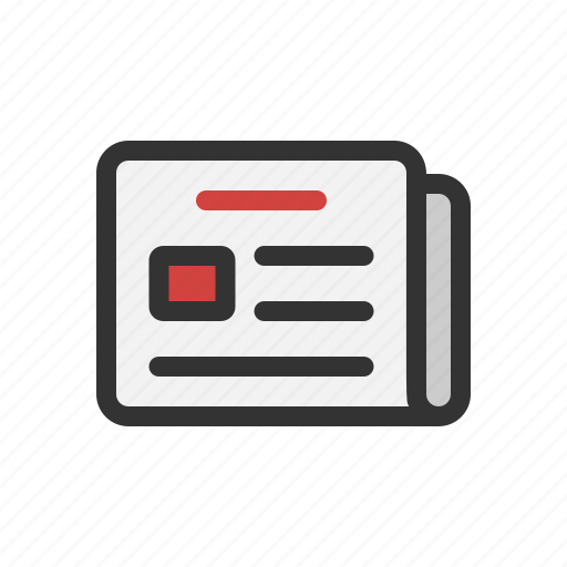 news, newsletter, newspaper, subscription icon