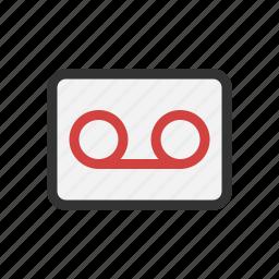 audio, recording, voice, voicemail icon