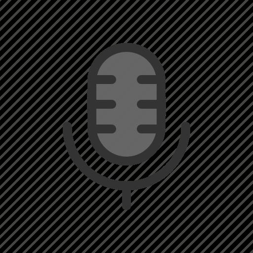 audio, microphone, recording, voice icon
