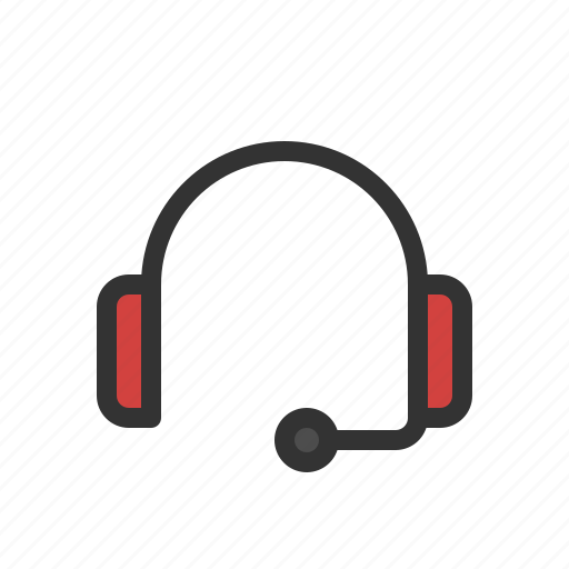 customer service, earphone, headphone, headset icon