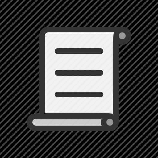letter, literature, script, writing icon