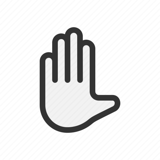 gesture, hand, sign, touch icon