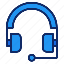 communication, earphone, headphone, headset, help, interface, support icon