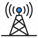 broadcast, communication, connection, radio, signal, station, tower