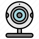 camera, communication, webcam icon