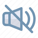 audio, communication, speaker icon