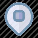 communication, destination, location, travel icon