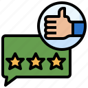 feedback, good, hand, miscellaneous, rating icon