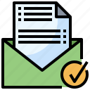 business, contact, email, letter, message icon