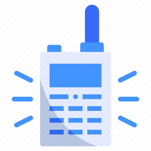 Communication, info, phone, radio, set, talkie, walkie icon - Download on Iconfinder