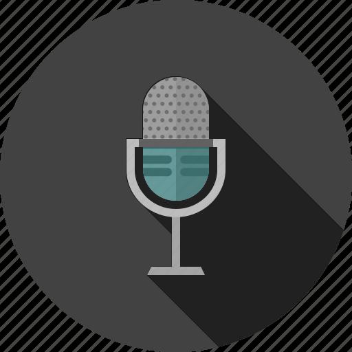 audio, equipment, media, mic, microphone, sound, voice icon