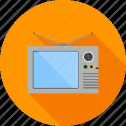 communication, media, movie, screen, set, technology, television icon