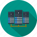 communication, data center, exchange, network, server, storage, transfer icon