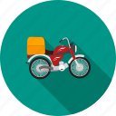 auto, automobile, bike, motorbike, motorcycle, transport, vehicle icon